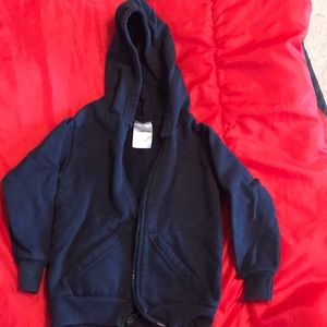 Other - 5/$20 Blue zip up hoodie size 3T